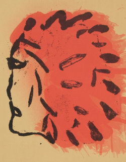 Indian Head From Peace Portfolio Limited Edition Print by Claes Thure Oldenburg