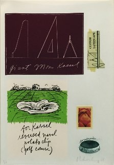 Notes (Kassel) 1968 Limited Edition Print by Claes Thure Oldenburg