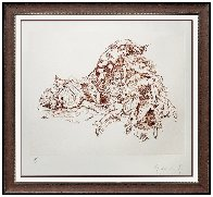 Composition With Figures 1975 Limited Edition Print by Claes Thure Oldenburg - 2