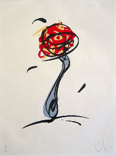 Twirling Fork W/ Meatball & Spaghetti 1993 Limited Edition Print - Claes Thure Oldenburg