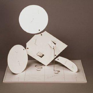 Geometric Mouse - Scale D Sculpture by Claes Thure Oldenburg