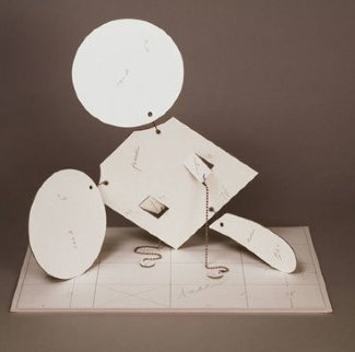 Geometric Mouse - Scale D Sculpture - Claes Thure Oldenburg