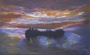 Lumious Dawn 1997 Limited Edition Print by Jules Olitski