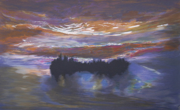 Lumious Dawn 1997 Limited Edition Print by Jules Olitski