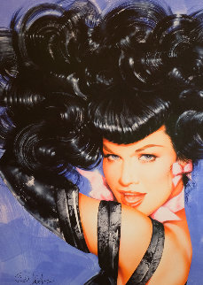 Bettie Page's Eyes 2010 Limited Edition Print by Olivia De Berardinis