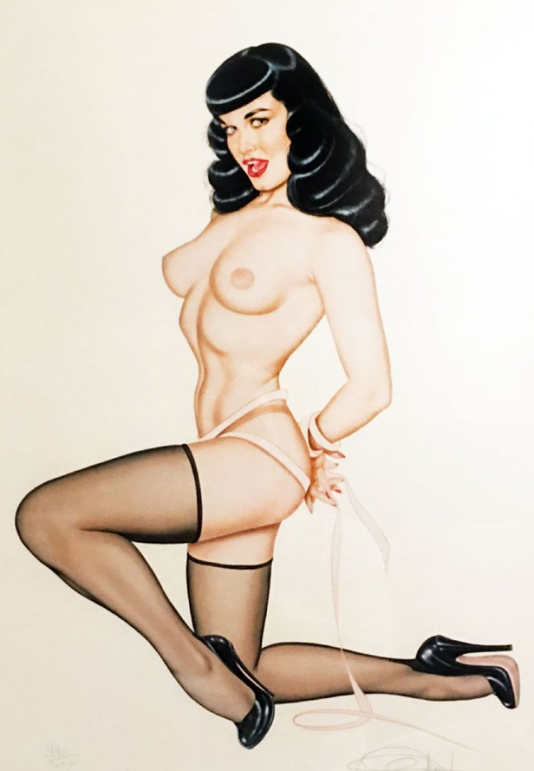 Pretty Peepers 1983 Limited Edition Print by Olivia De Berardinis