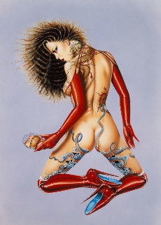 Tattoo I 1988 Limited Edition Print - Olivia De Berardinis