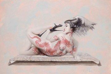 Red Dragon 2000 Limited Edition Print - Olivia De Berardinis