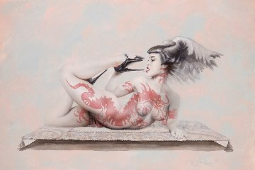 Red Dragon 2000 Limited Edition Print by Olivia De Berardinis