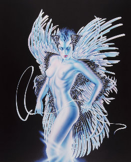 Angel Wings 1995 Limited Edition Print by Olivia De Berardinis