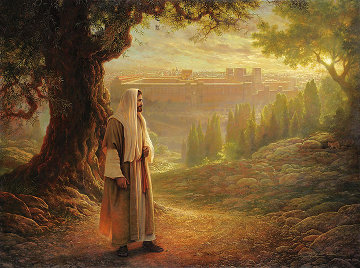 Wherever He Leads Me 2001 46x62 Limited Edition Print - Greg Olsen