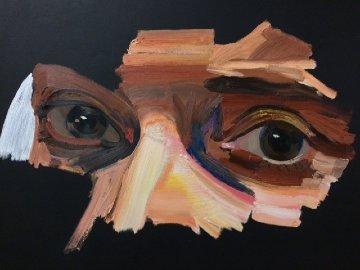 Poet 2016 79x59 Super Huge Original Painting - Erik Olson