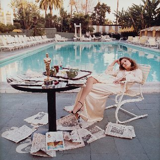 Faye Dunaway AP 1977 HS Photography by Terry Oneill