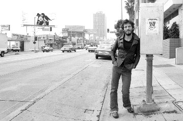 Bruce Springsteen on Sunset Strip, 1975 Limited Edition Print - Terry O'Neill