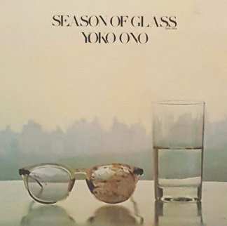 Season of Glass Billboard Ad Paste Up 1981 Unique  16x13 Limited Edition Print by Yoko Ono