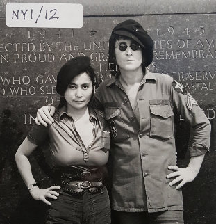 Untitled Set of 12 Photographic Images (Stethoscope Pictures) 1971 Photography - Yoko Ono