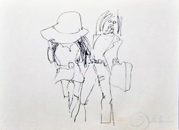 Honeymoon Limited Edition Print by Yoko Ono