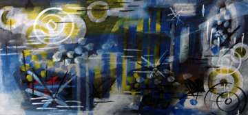Silent Music 1957 Works on Paper (not prints) - Gordon Onslow-Ford