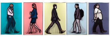 Professional Series 1 - Complete Set of 5  2014 Limited Edition Print - Julian Opie