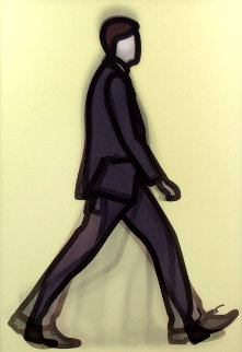 Professional Series 1 - Banker 2014 Limited Edition Print - Julian Opie