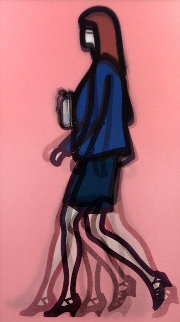 Professional Series 1 - Lawyer 2014 Limited Edition Print - Julian Opie