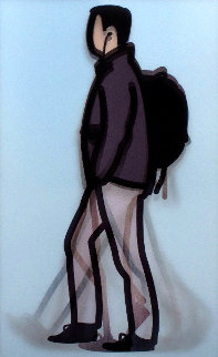Professional Series 1 - Student 2014 Limited Edition Print - Julian Opie