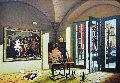 A Quiet Afternoon 47x36 Original Painting - Orlando Quevedo