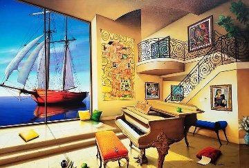 Love Boat 2000 Limited Edition Print by Orlando Quevedo
