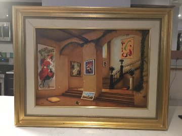 Champs Elysees Limited Edition Print by Orlando Quevedo
