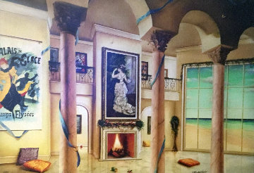 Palais De Glace Champs Elysees Limited Edition Print - Orlando Quevedo