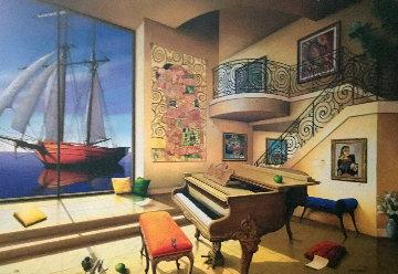 Untitled Interior Limited Edition Print by Orlando Quevedo