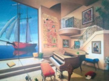 Love Boat 2000 Limited Edition Print - Orlando Quevedo