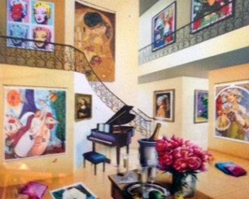 Flores De Amor 2012 Limited Edition Print - Orlando Quevedo