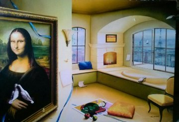 Mona Lisa Limited Edition Print by Orlando Quevedo