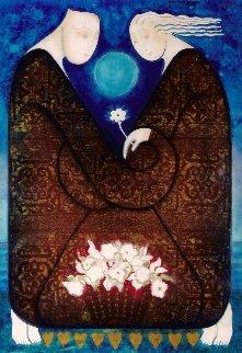 Unison Embellished Limited Edition Print - Agudelo-Botero Orlando (Orlando A.B.)