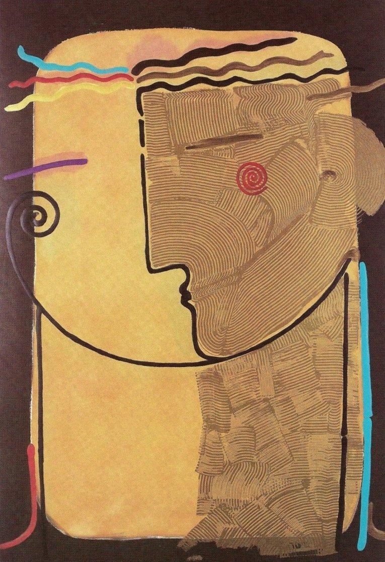 Dos Personas II Huge Limited Edition Print by Agudelo-Botero Orlando (Orlando A.B.)