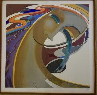 Silent Passions 1985 38x38 Super Huge  Limited Edition Print by Agudelo-Botero Orlando (Orlando A.B.) - 1