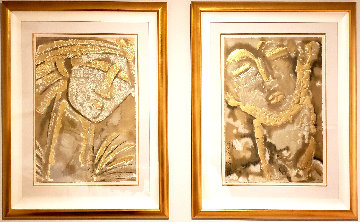 Classical Expressions -  Poeta & Guardian (Suite of 2) Limited Edition Print by Agudelo-Botero Orlando (Orlando A.B.)