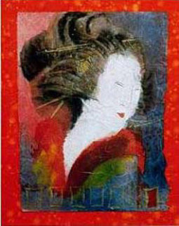 Muse of Self Expression Limited Edition Print by Agudelo-Botero Orlando (Orlando A.B.)
