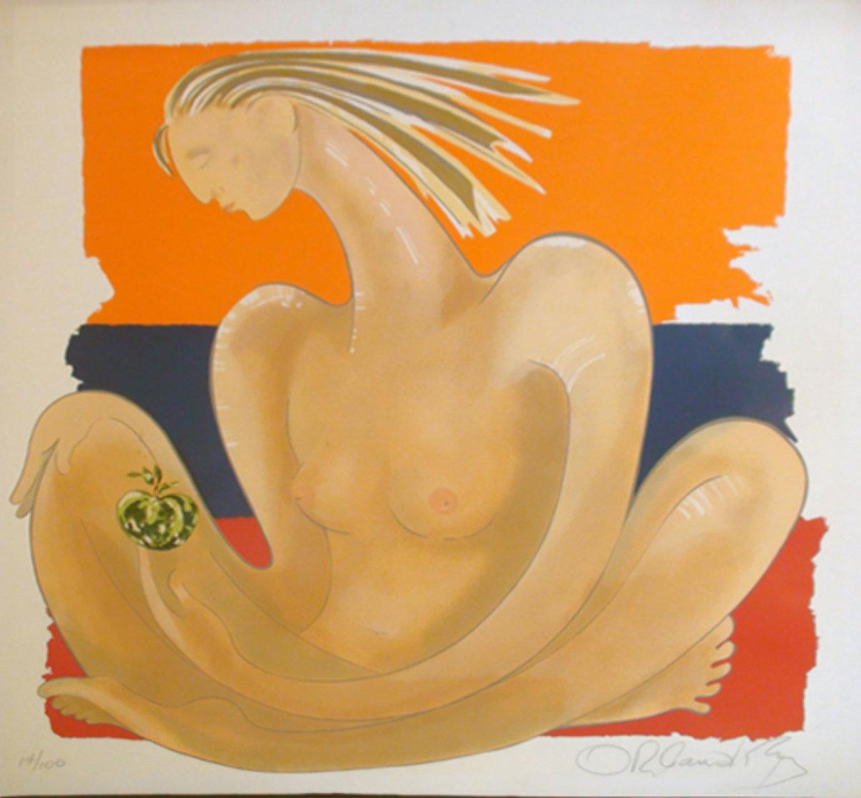 Herencia 1984 (Early) Limited Edition Print by Agudelo-Botero Orlando (Orlando A.B.)