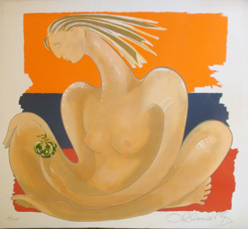 Herencia 1984 (Early) Limited Edition Print - Agudelo-Botero Orlando (Orlando A.B.)