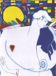 El Beso - The Kiss Limited Edition Print - Agudelo-Botero Orlando (Orlando A.B.)