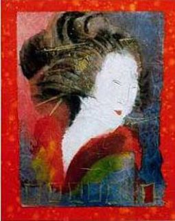Muse of Self Expression Limited Edition Print - Agudelo-Botero Orlando (Orlando A.B.)