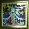 Accion De Gracias Embellished Limited Edition Print by Agudelo-Botero Orlando (Orlando A.B.) - 1
