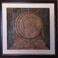 Origin: Mother and Child 2002 Limited Edition Print by Agudelo-Botero Orlando (Orlando A.B.) - 1