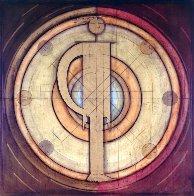 Equilibrio, Balance of Personalities 1997 60x60 Super Huge Original Painting by Agudelo-Botero Orlando (Orlando A.B.) - 1