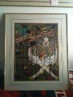 One Big Ballet Watercolor 1978 Watercolor by Agudelo-Botero Orlando (Orlando A.B.) - 1