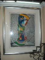Untitled Painting 54x42 Super Huge Original Painting by Agudelo-Botero Orlando (Orlando A.B.) - 1
