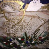 Un Angel Llamado Maria del Pilar 1992 46x37 Huge Limited Edition Print by Agudelo-Botero Orlando (Orlando A.B.) - 1
