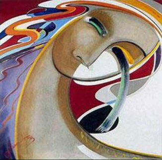 Silent Passion 1986 Limited Edition Print by Agudelo-Botero Orlando (Orlando A.B.)